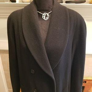Preston & York full length wool coat